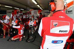 Ducati-Teambereich