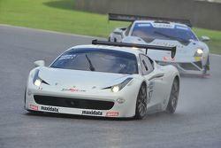 Ferrari 458 Challenge,GTCup #157 Fabio Mancini, Gianluca Carboni, Easy Race