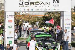 يزيد الراجحي، رالي الأردن