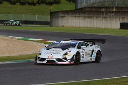 Lamborghini Gallardo GT3 #63, Mirko Bortolotti, Adrian Zaugg Imperiale Racing