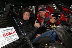 Max Verstappen, Red Bull Racing, with Mattias Ekström, Audi Sport Team Abt Sportsline, Audi A5 DTM