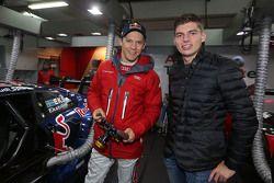Max Verstappen, Red Bull Racing con Mattias Ekström, Audi Sport Team Abt Sportsline, Audi A5 DTM