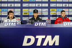 Press Conference, Pascal Wehrlein, HWA AG Mercedes-AMG C63 DTM; Bruno Spengler, BMW Team MTEK BMW M4