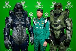 Dale Earnhardt Jr., Hendrick Motorsports Chevrolet con personajes del juego de video Halo 5