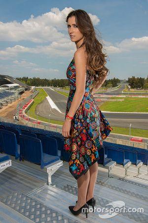 Meksika GP'si grid kızı