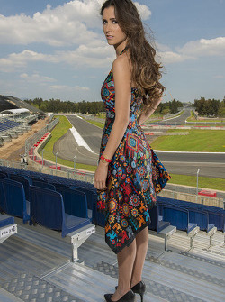Grid Girl del GP del Messico