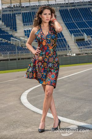 Mexican GP grid girl