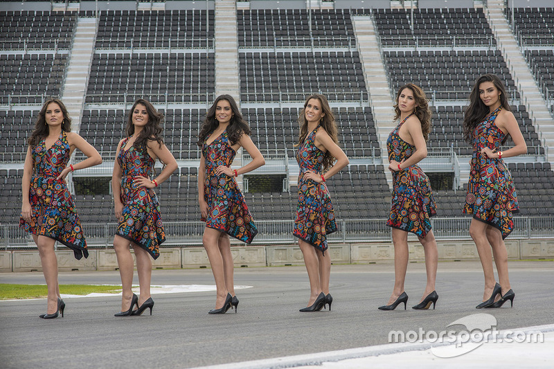 Grid Girls del GP de México