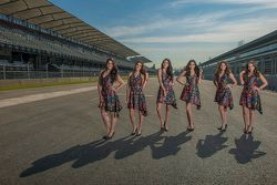 Mexican GP grid girls