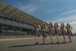 Grid Girls del GP de México