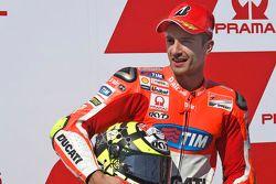 Второе место в калификации - Андреа Янноне, Ducati Team