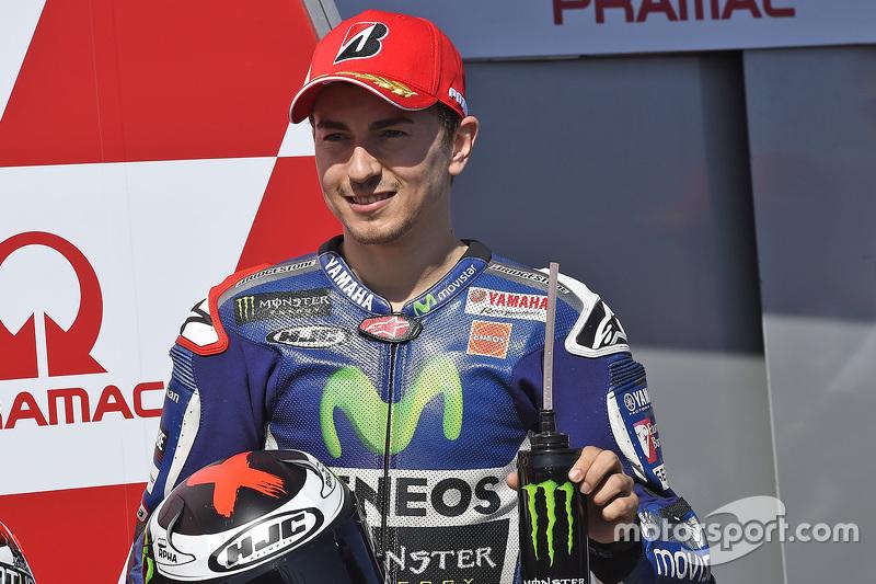 Tercero en la calificación, Jorge Lorenzo, Yamaha Factory Racing