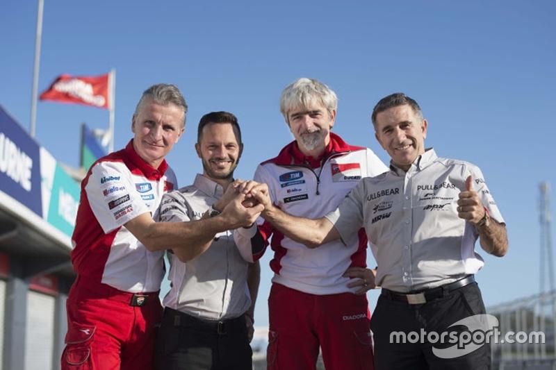 Pengumuman resmi Aspar MotoGP: Paolo Ciabatti, Gino Borsoi, Gigi Dall'Igna dan Jorge Martinez