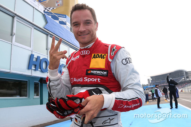 Second place qualifying for Timo Scheider, Audi Sport Team Phoenix Audi RS 5 DTM