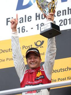 Подиум: победитель гонки - Тимо Шайдер, Audi Sport Team Phoenix Audi RS 5 DTM