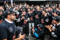 2015 champion Pascal Wehrlein, HWA AG Mercedes-AMG C63 DTM