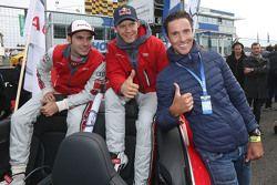 Miguel Molina, Audi Sport Team Abt Audi RS 5 DTM, Mattias Ekström, Audi Sport Team Abt Sportsline, Audi A5 DTM, le triathlète Andreas Raelert