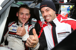 Nick Tandy y Frédéric Makowiecki, Porsche Team