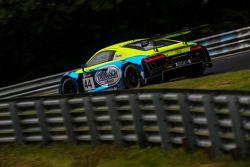 #44 TwinBusch Motorsport Audi R8 LMS ultra: Marc Busch, Dennis Busch, Marc Basseng