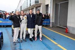Kazanan #2 Black Falcon Mercedes-Benz SLS AMG GT3: Hubert Haupt, Yelmer Buurman, Adam Christodoulou,
