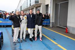 Ganadores #2 Black Falcon Mercedes-Benz SLS AMG GT3: Hubert Haupt, Yelmer Buurman, Adam Christodoulo