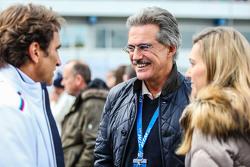 Alex Zanardi y Dr Mario Theissen de BMW