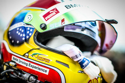 Casco de Augusto Farfus , BMW Team RBM BMW M4 DTM