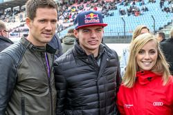 Sebastien Ogier, Julien Ingrassia, Volkswagen Motorsport et Max Verstappen , Scuderia Toro Rosso avec sa petite-amie Mikaela Ahlin-Kottulinsky