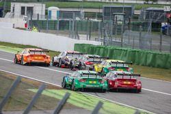 Edoardo Mortara , Audi Sport Team Abt Audi RS 5 DTM et Miguel Molina , Audi Sport Team Abt Audi RS 5 DTM