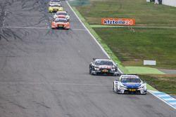 Maxime Martin , BMW Team RMG BMW M4 DTM mène