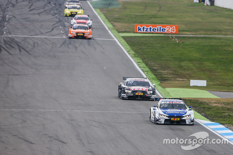 Максім Мартін , BMW Team RMG BMW M4 DTM  лідирує