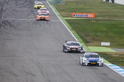 Maxime Martin , BMW Team RMG, BMW M4 DTM, in Führung