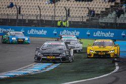 Christian Vietoris , HWA AG Mercedes-AMG C63 DTM et Timo Glock , BMW Team MTEK BMW M3 DTM