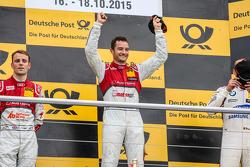 Ganador de la carrera Timo Scheider , Audi Sport Team Phoenix Audi RS 5 DTM