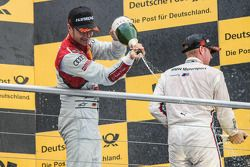 Le vainqueur Timo Scheider , Audi Sport Team Phoenix Audi RS 5 DTM