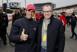 Emanule Pirro e Stefano Domenicali FIA Single-Seater Commission Presdient
