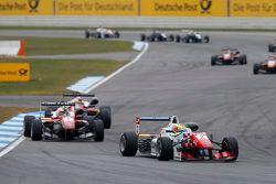 Jake Dennis, Prema Powerteam Dallara Mercedes-Benz and Felix Rosenqvist, Prema Powerteam Dallara Mer