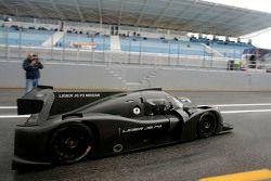Pierre Fillon, ACO-Präsident, testet den Ligier JS P3 - Nissan