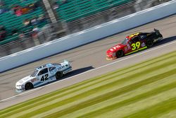 Brennan Poole, HScott Motorsports with Chip Ganassi and Ryan Sieg, RSS Racing Chevrolet