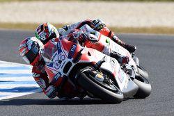 Andrea Dovisiozo, Ducati Team y Danilo Petrucci, Pramac Racing