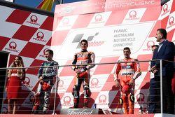 2. Хорхе Лоренсо, Yamaha Factory Racing, 1. Марк Маркес, Repsol Honda