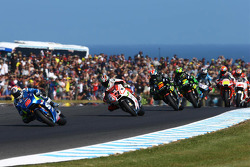 Maverick Viñales, Team Suzuki MotoGP, Danilo Petrucci, Pramac Racing