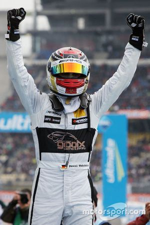 Le Champion DTM 2015 Pascal Wehrlein, HWA AG