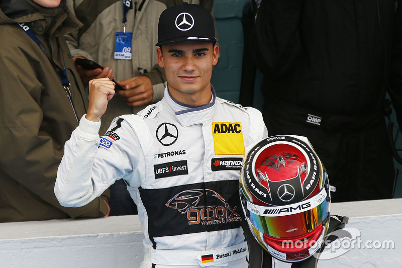 DTM-Champion 2015: Pascal Wehrlein, HWA AG