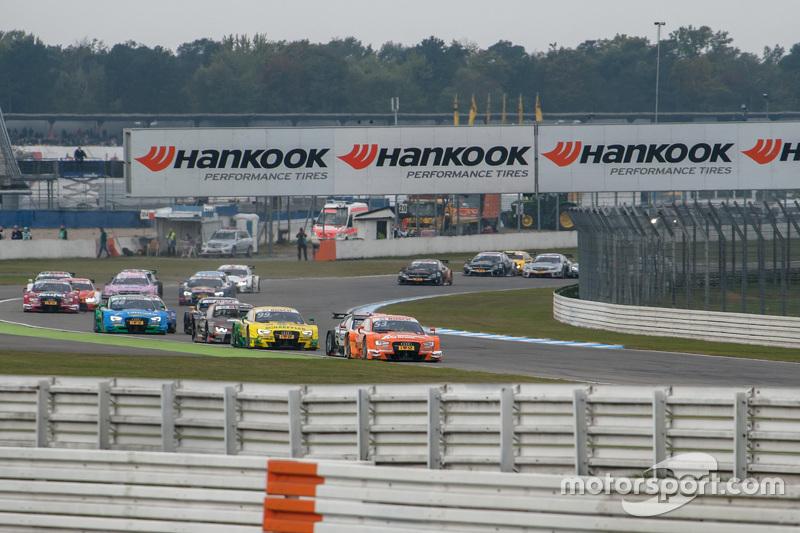 Start: Jamie Green, Audi Sport Team Rosberg Audi RS 5 DTM leads