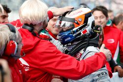 3. Yarış kazananı Felix Rosenqvist, Prema PowerTeam Dallara Mercedes-Benz