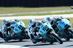 Danny Kent, Leopard Racing, Efren Vazquez, Leopard Racing and Joan Mir, Leopard Racing