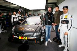 Pascal Wehrlein, HWA AG Mercedes-AMG C63 DTM with BossHoss