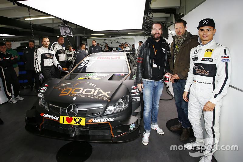 Pascal Wehrlein, HWA AG, Mercedes-AMG C63 DTM, mit BossHoss