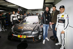 Pascal Wehrlein, HWA AG, Mercedes-AMG C63 DTM, mit BossHoss